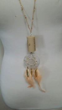 New one of a kind wine cork necklace  Richmond, 77469