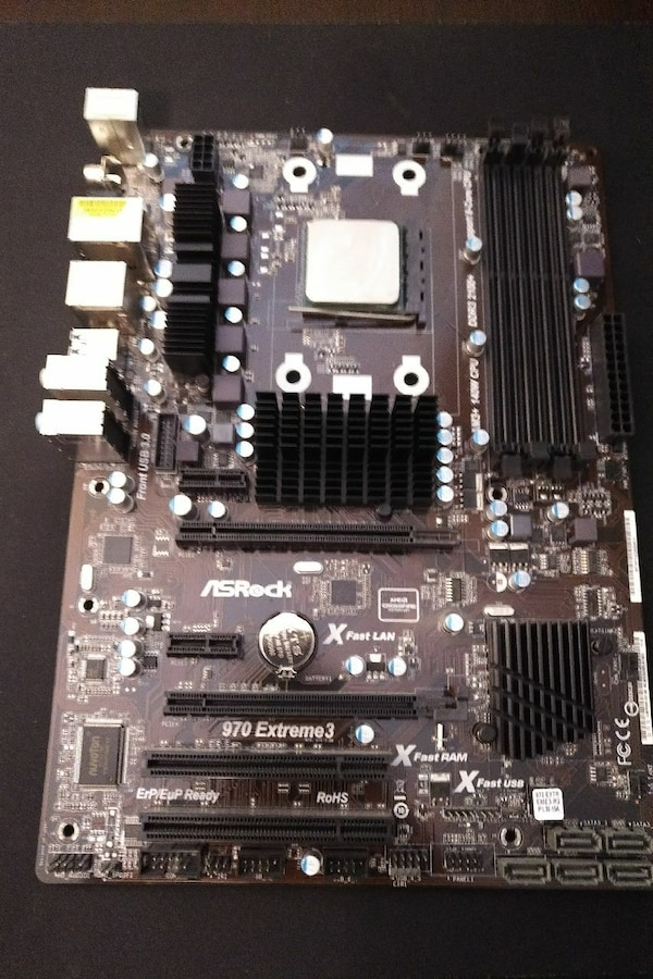 ASRock 970 Extreme3 Motherboard with AMD FX-8320