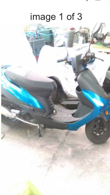 Letgo blue and black motor scooter in jacksonville fl Motor scooters jacksonville fl