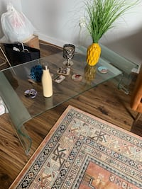 Solid/Heavy Glass Coffee Table - Contemporary  Arlington, 22202