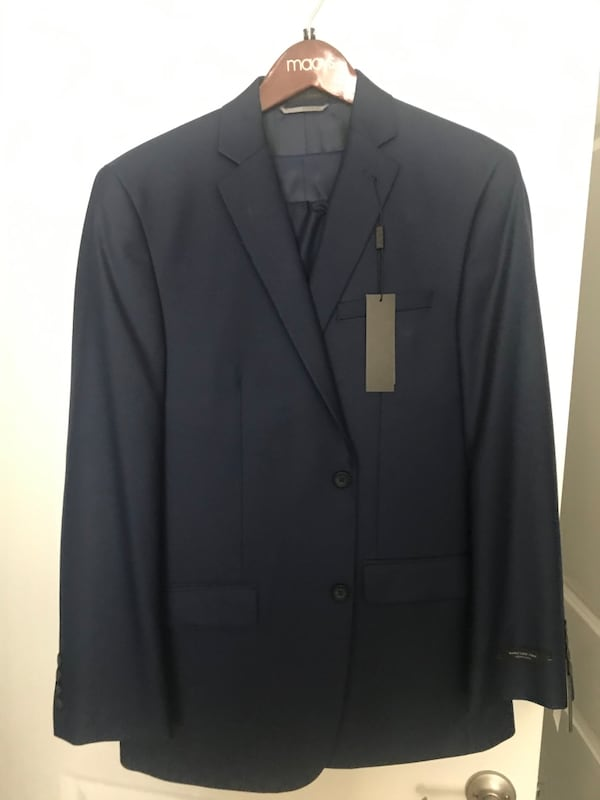 Grey and blue 40R two new suits with tags 29f91439-81b3-4af1-ad17-c7ca03bc46c9