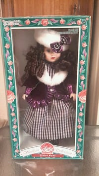 Victorian Rose Collection Porcelain Doll  Henderson, 89002