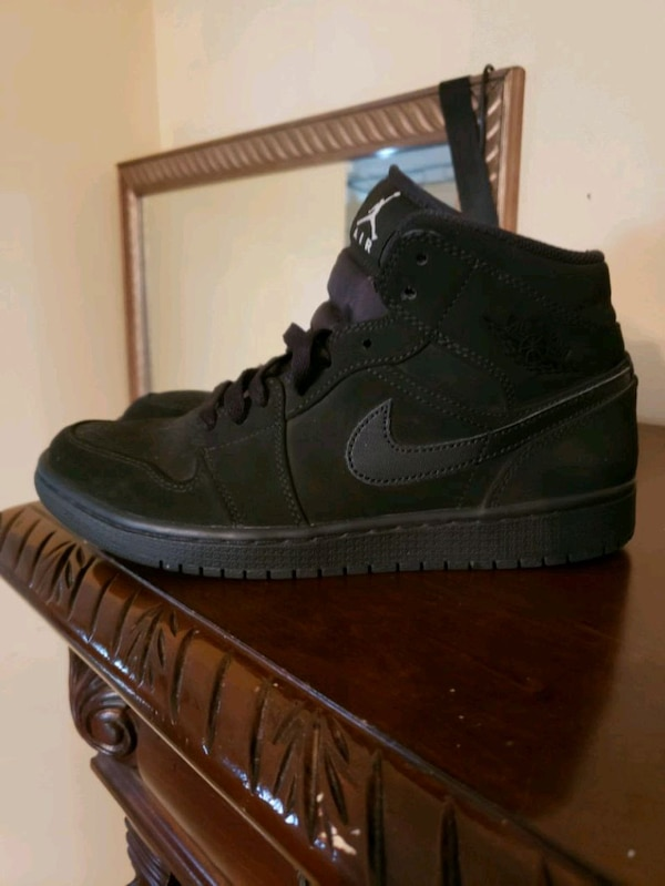official photos 1991f 27abc Used pair of black Nike Air Force 1 high shoes size 8.5 for sale in  Chalmette - letgo
