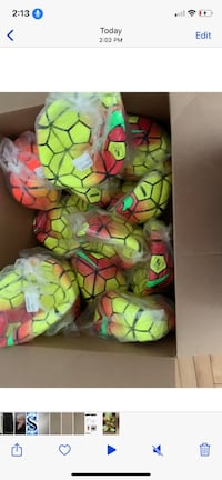 Premier league FIFA size 5 soccer ball  10$ each. 12 in total Surrey, V3S 9T2