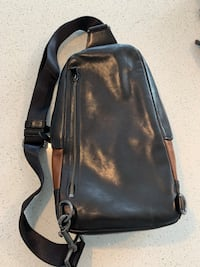 Men's Coach crossbody bag