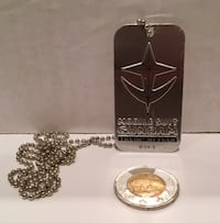 Mobile Suit Gundam - The 08th MS Team promotional dog tag MINT Toronto