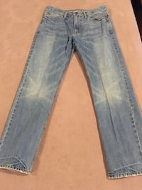 Men's American Eagle Jeans, Size 33 x 32 Relaxed Fit, Excellent Condition
