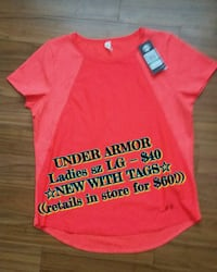 Under Armor ☆NEW WITH TAGS☆ ladies sz LG Lethbridge, T1H 2X5