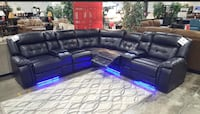 Power Reclining Sectional Amazing Sale! Easy Finance Available!  New York, 11435