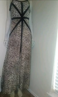 MEDIUM SPANDEX LONG COCKTAIL DRESS ANIMAL/LEOPARD PRINT Arlington, 76006