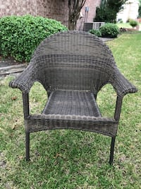 Natural Fiber Rattan Square Dining Chairs (Two pieces) Rowlett, 75089