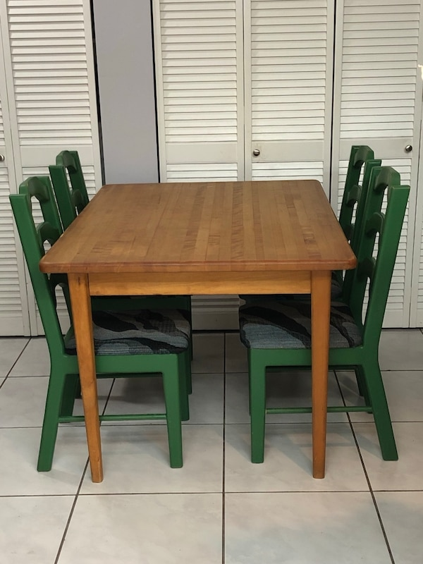 Butcher Block table heavy solid wood