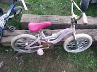 toddler's pink and white bicycle Jonesborough, 37659