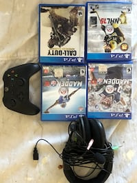 Four assorted sony ps4 games, etc Middlesex, 08846