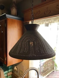 Punched Tin Light