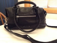 Cole Haan black leather tote/shoulder bag