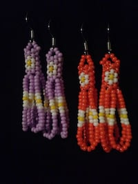 Peyote style earrings  Regina, S4S 2H6
