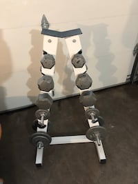 Free Weights and Rack