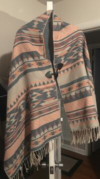 Never worn poncho