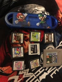 Mix Nintendo (3)ds and game boy games New York, 10456