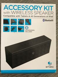 Brand new Ematic wireless speaker with accessory kit  Vaughan, L4H