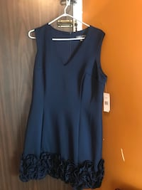 Donna Rocco navy blue formal dress size 16 Great for all occasionsBrand new Toronto, M9V 5E5