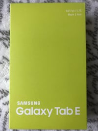 "BNIB - Samsung Galaxy Tablet E 8"" LTE, Black Burnaby"