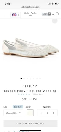 Bella Belle Hailey Bridal Flats Rockville, 20852