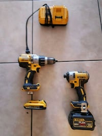 two DeWalt cordless hand drills Miami, 33186