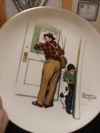 Norman Rockwell plate mint condition  Meriden, 06451