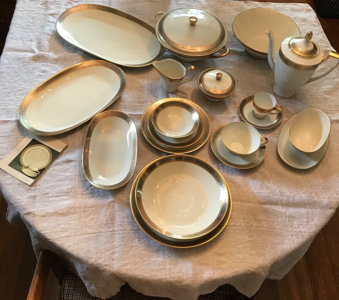 Rosenthal Duchess China Set purchased in Vienna 2
