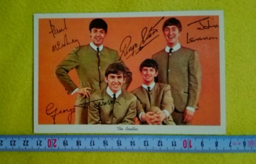 The Beatles Kartpostal 72daf379-5d80-4e28-aeca-a448c205623a