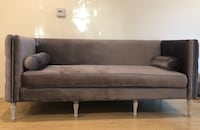 gray and black suede sofa South Pasadena, 91030