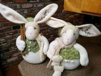 Mr. & Mrs. Snow bunnies for winter or Christmas  Medford, 97501