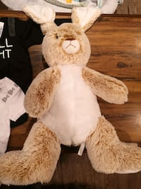 Baby plush toy bunny