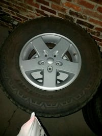 jeep wheels and tires Knoxville, 37918