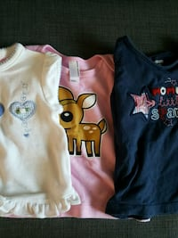 Toddler t-shirts 3 for $8 (6-12 months) Richmond Hill, L4B