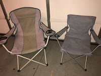 2 folding/ camping chairs  Charlotte, 28078