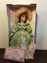 Victorian Collection Doll Collectible Doll Fullerton, 92831