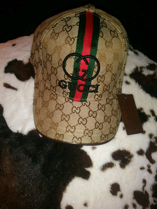 a5c25a20728 Used brown and black Gucci leather cap for sale in Forest Park - letgo