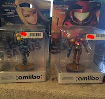 Samus Smash Bros Amiibos Set