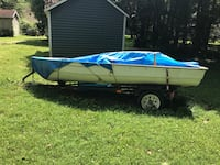 12ft boat and trailer seats not shown but included Elkhart, 46514