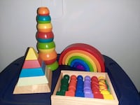 Stacking and Lacing Toys