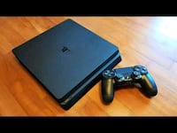 black Sony PS4 console with controller Vaughan, L6A 0C3