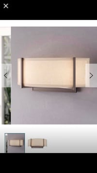Light Wall Sconce ..