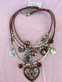 Necklace brown/Silver Calgary, T2A 6E4