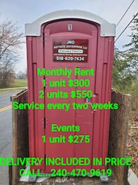 Porta Potty  For Rent Capitol Heights