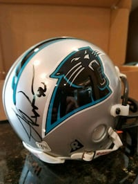 JULIUS PEPPERS CAROLINA PANTHERS MINI HELMET  504 mi