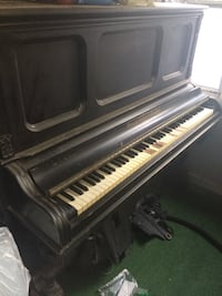 1877 Upright Ernest Gabler & Brother Patented Piano - Ivory Keys (needs some repair) Wilmington, 01887