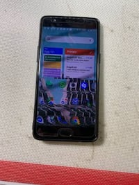 Oneplus3 A3000 Smarphone 6GB RAM 64GB ROM Snapdragon 820 Broken screen Falls Church